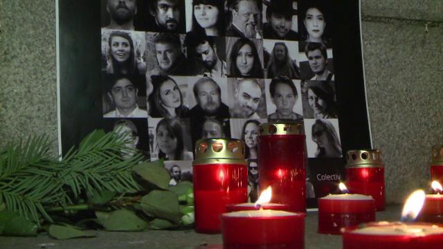 Victimele din Colectiv, comemorate în toată ţara. \
