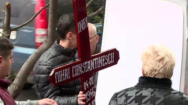 Mihai Constantinescu a fost înmormântat în cimitirul Ghencea cu onoruri militare - Imaginea 1