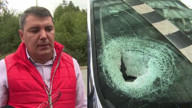 Decizia luată de șoferul a cărui soție a fost rănită de un bolovan pe Defileul Jiului
