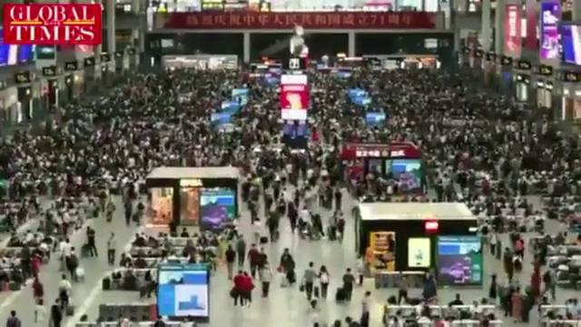 În plină pandemie, milioane de chinezi pleacă în vacanța de Ziua Națională. China, mai puțin afectată de Covid decât România