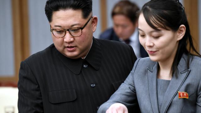 Kim Jong Un, alături de sora sa într-un sat afectat de inundații. Ce a sesizat liderul nord-coreean