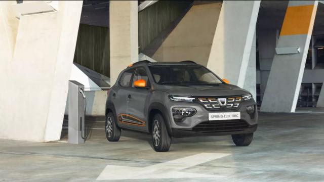 Dacia Spring, primul model 100% electric, FOTO și VIDEO. Noi detalii tehnice - Imaginea 1