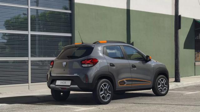 Dacia Spring, primul model 100% electric, FOTO și VIDEO. Noi detalii tehnice - Imaginea 3