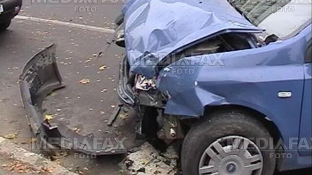Un politist beat din Buzau a provocat un grav accident rutier