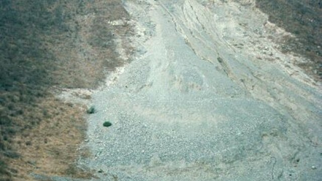 Alunecare de teren catastrofala in China