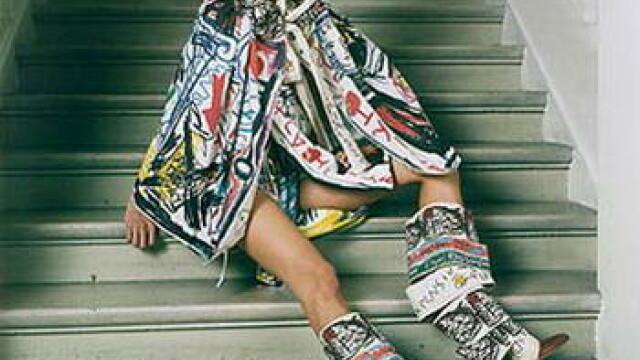 Vivienne Westwood a facut senzatie la Saptamana modei de la Londra