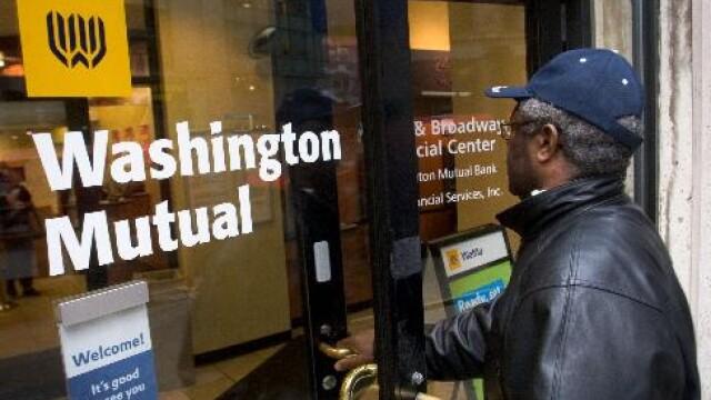Washington Mutual a fost cumparata in extremis de JP Morgan