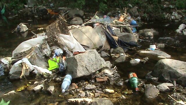 Muntii Dognecei plini de gunoaie! Turistii nu dau doi bani pe ecologie - Imaginea 5