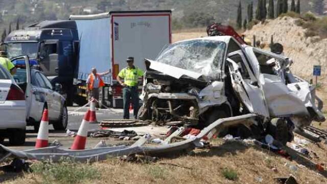 accident Spania