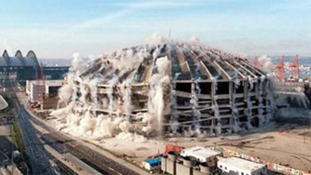Cele 7 minuni ale distrugerii: cele mai spectaculoase demolari de stadioane