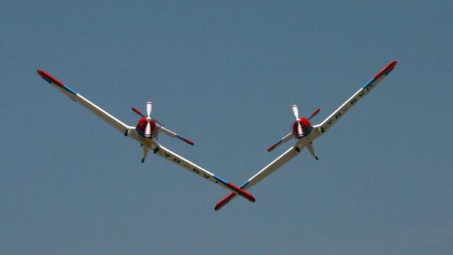 Miting aviatic la Belgrad! A participat si Romania