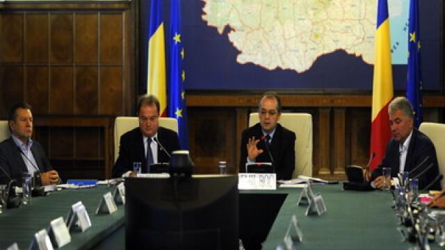 Emil Boc si ministrii