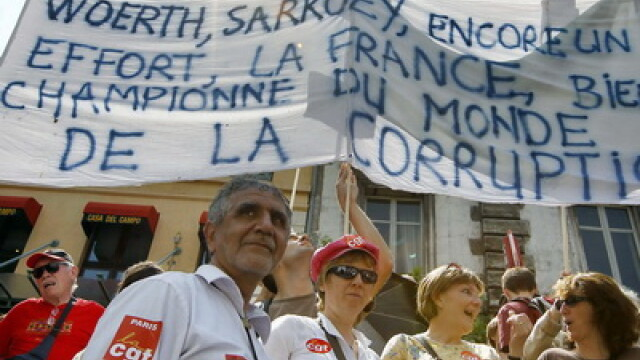 Greva Franta, proteste