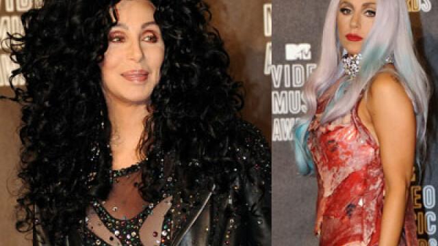 Lady GaGa, Cher