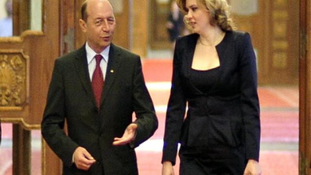 Traian Basescu si Roberta Anastase