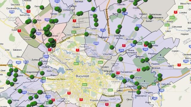 70% din suprafata tarii, cartata in cadrul proiectului Let\'s Do It, Romania