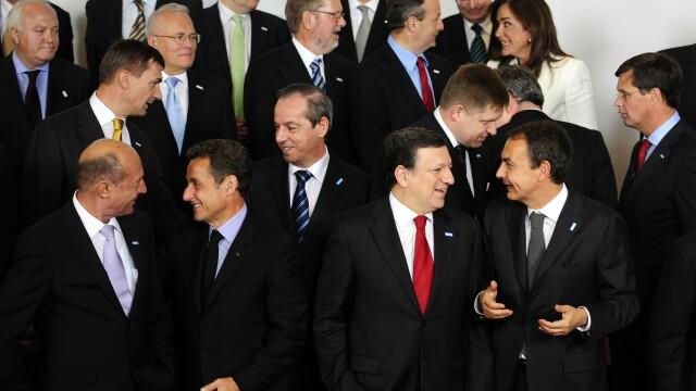 Poza de grup la Summitul UE din 2009