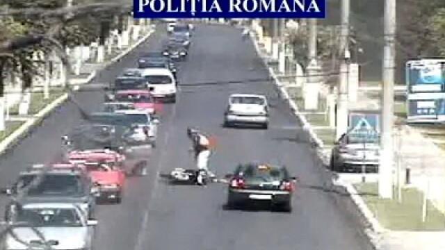 Accident motoclicist