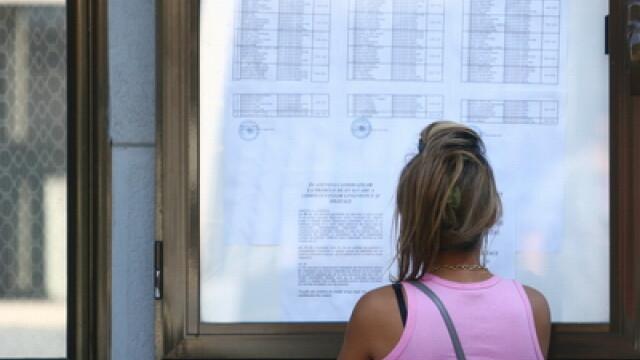 Cluj: promovabilitatea la bacalaureat a crescut dupa contestatii cu un procent, la 21,66%