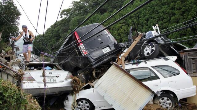 FOTO. Tara pe care nu o mai iarta natura. Imaginile noului dezastru care a ingenuncheat Japonia - Imaginea 4