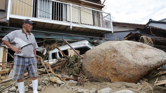 FOTO. Tara pe care nu o mai iarta natura. Imaginile noului dezastru care a ingenuncheat Japonia - Imaginea 1