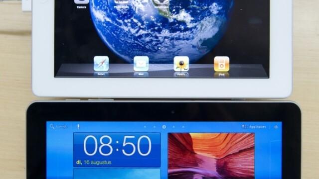 Galaxy Tab si iPad