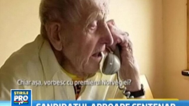 La 98 de ani, un veteran de razboi din Norvegia a dat lovitura in alegeri