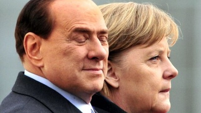 A intrecut limita. Berlusconi despre Merkel: \