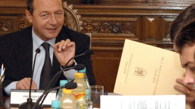 Traian Basescu la CSAT