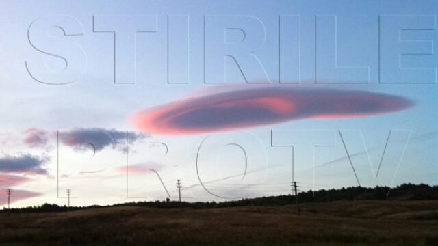 UPDATE: Spectacol pe cer in doua judete din Romania. Formele spectaculoase oferite de nori - Imaginea 6
