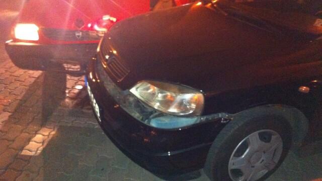 Trei masini au fost facute praf de un sofer beat, la Timisoara