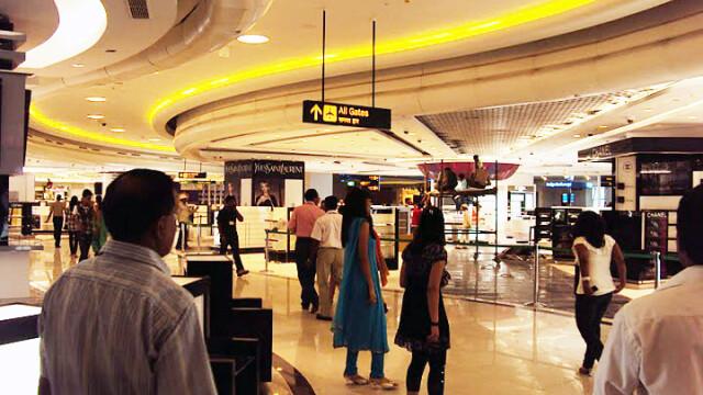 aeroport, Delhi, India
