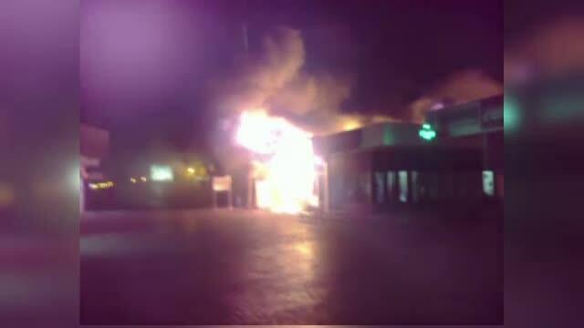 Fiul femeii arse de vie intr-un magazin din Mamaia, audiat de anchetatori. Ce a declarat la politie