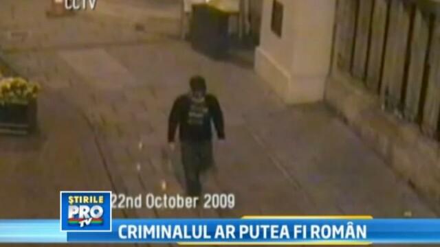 Portretul robot al barbatului cautat de Interpol in Romania pentru o crima infioratoare