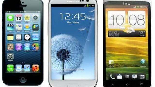 iPhone 5 vs. Galaxy S III vs. One X