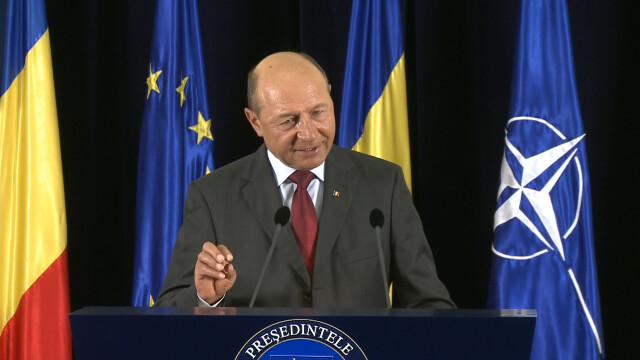 Basescu: Antonescu a dat al 8173-lea avertisment, dupa care a cazut pe spate si a adormit
