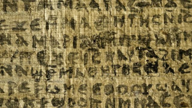 manuscris in limba copta