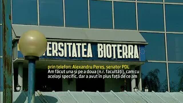 Sefi din Politie si politicieni, printre absolventii Bioterra. Profesorii luau mita si ciment