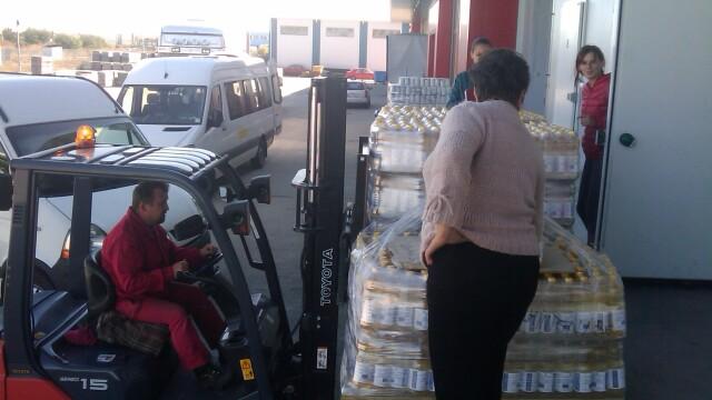 Peste 60.000 de persoane defavorizate din judetul Cluj primesc ajutoare alimentare