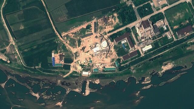 Coreea de Nord a repornit un reactor nuclear la o centrala veche: \