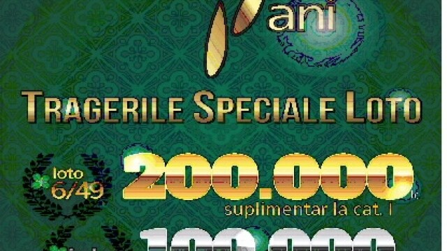Tragere LOTO speciala