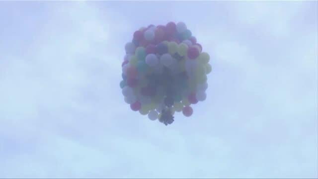 zbor cu baloane