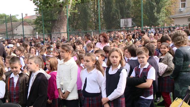 prima zi de scoala, Colegiul National Banatean