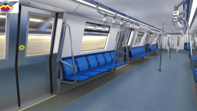 16 trenuri noi cumparate de Metrorex. Primele imagini cu noua garnitura de metrou din Bucuresti - Imaginea 1