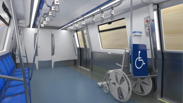 16 trenuri noi cumparate de Metrorex. Primele imagini cu noua garnitura de metrou din Bucuresti - Imaginea 5