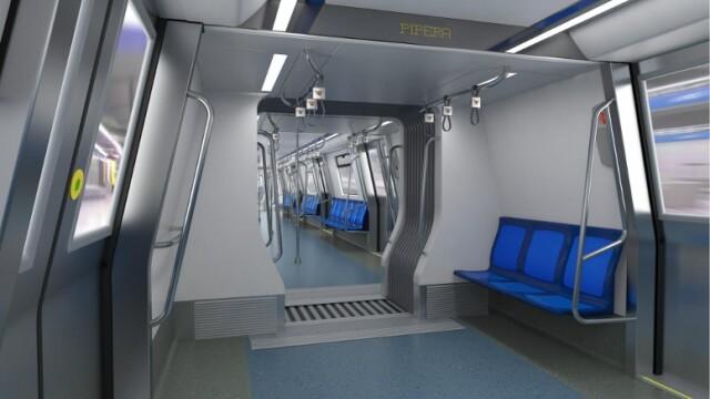 16 trenuri noi cumparate de Metrorex. Primele imagini cu noua garnitura de metrou din Bucuresti - Imaginea 7