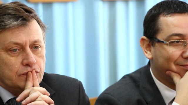 Crin Antonescu, Victor Ponta - cover