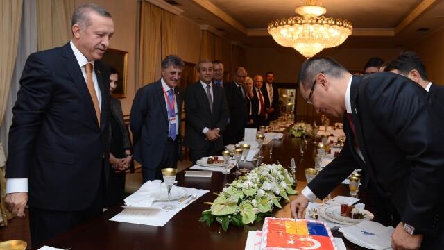 Recep Erdogan, Victor Ponta