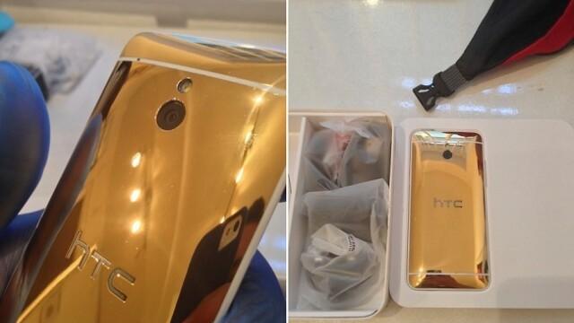 HTC One Mini Gold Edition. Cum arata telefonul de lux care costa 3000 de dolari - Imaginea 3