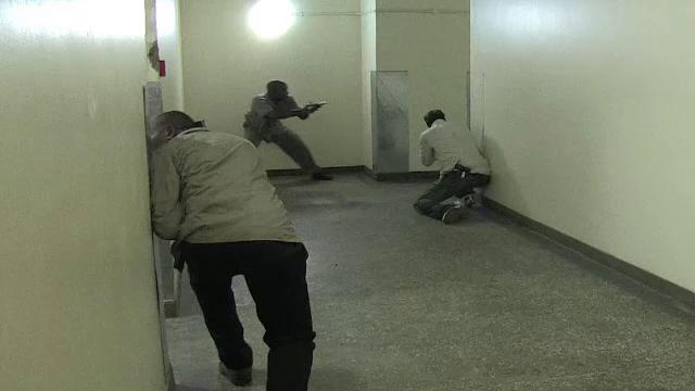 ostatici, mall, Kenya